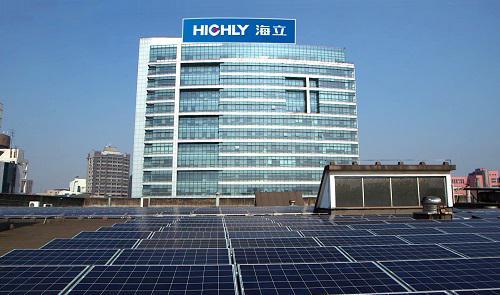 上海中心城区最大光伏发电项目 在海立集团制