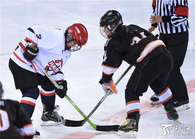 哈尔滨对战上海比赛现场 天山网快讯(记者库尔班江尤努斯庞雪芳报道)1月16日,第十三届全国冬季运动会女子冰球比赛项目迎来了第二个比赛日,哈尔滨队以18比0大胜上海队,乌鲁木齐队则在下午的比赛中以4比1战胜齐齐哈尔队,迎来两连胜。 如果说上午的比赛是一盘新疆拌面,面是面,菜是菜,孰强孰弱一眼分明,毫无悬念。那么下午的对阵可谓一锅东北乱炖,不到最后一秒,谁也预测不了结果。 哈尔滨队对阵上海队的比赛一开局,哈尔滨队就牢牢占据了场上的主动权,开局仅仅两分钟,哈尔滨队就给上海队门前造成了不小的麻烦,不过,连续的射门