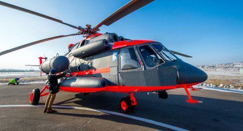 米-8amtsh-v直升机的改型