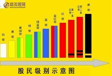 测测你是哪种颜色的股民段位?我是黄色,真的很