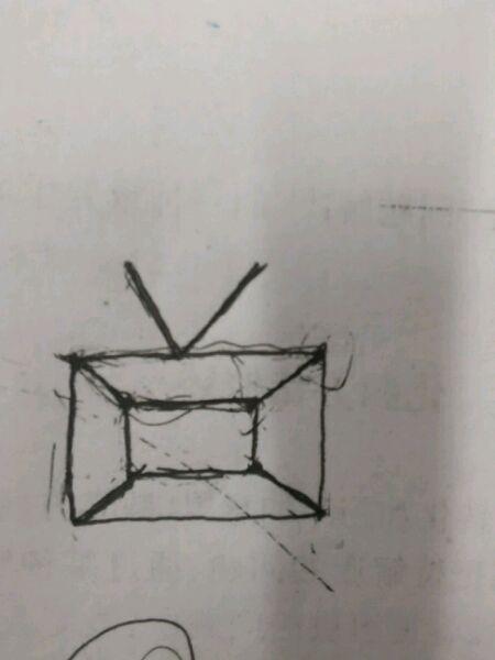 小电视至少多少笔画成,你算对了吗