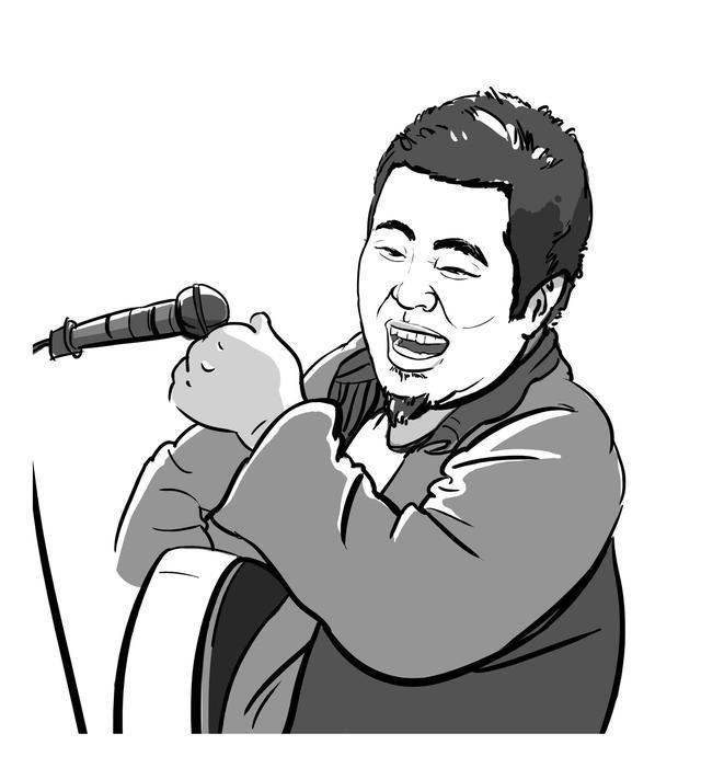 |人物画像|美图音乐故事 宋胖子的故事 文字|离想主义 画像|Joy-W 不谈雏儿劳鹊全国百城巡演,台湾爆红开个唱,华为荣耀冠名音乐会,2016年1月9日,宋冬野与谭盾及中国国家交响乐团混搭登上了人民大会堂,标志着这位民谣歌手在商业上取得的巨大成功。 宋冬野成功了的迹象就是身边朋友都知道他了,在那之前只有萌萌。2010年,我在坚果音乐网花10块大洋买了一首宋冬野的《年年》,并与萌萌分享。 直到2013年宋冬野才火。 知道《年年》这首歌么?我当年.