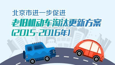 北京市进一步促进老旧机动车淘汰更新方案(2015-2016年)